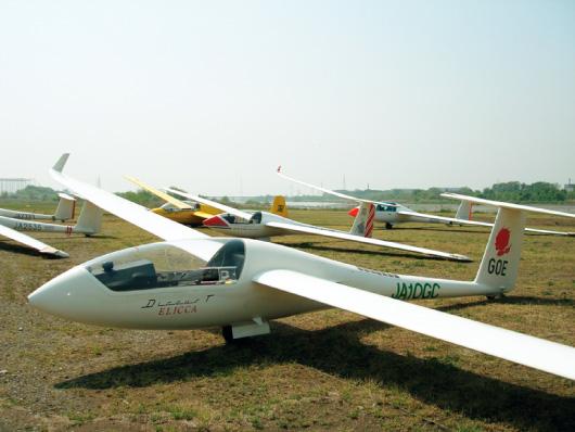 大野グライダー滑空場イメージ
